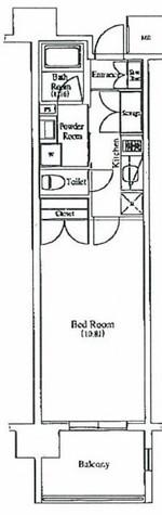 プレミアムキューブ秋葉原 / 5階 部屋画像1