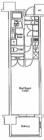 プレミアムキューブ秋葉原 / 6階 部屋画像1