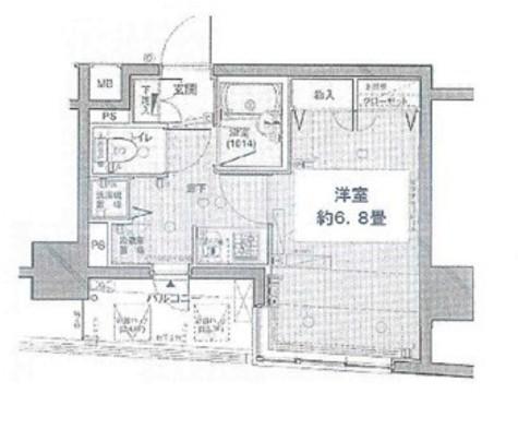プレール・ドゥーク銀座EAST / 6階 部屋画像1