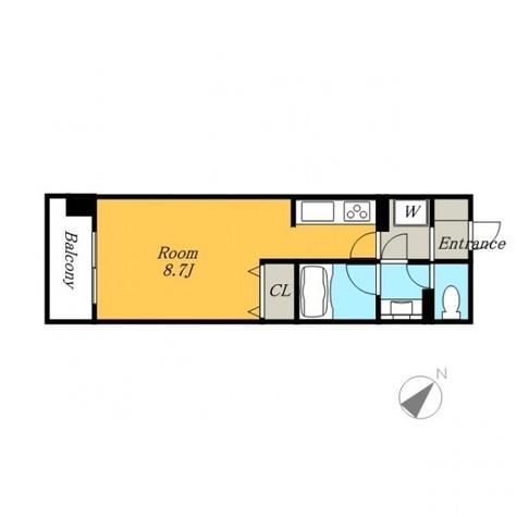 カナーリス月島 / 4階 部屋画像1