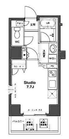 コンフォリア銀座EAST / 2階 部屋画像1
