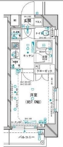 パレステュディオ銀座一丁目 / 11階 部屋画像1