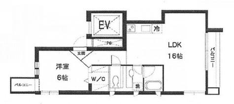 CASA  ABC / 5階 部屋画像1