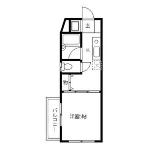コピエ五反田 / 1階 部屋画像1