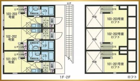 ハーミットクラブハウス山手Ⅱ / 1階 部屋画像1