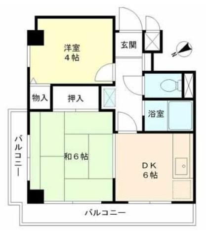 グランデュール六義園 / 2階 部屋画像1