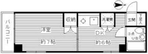 モンテ高輪 / 3階 部屋画像1