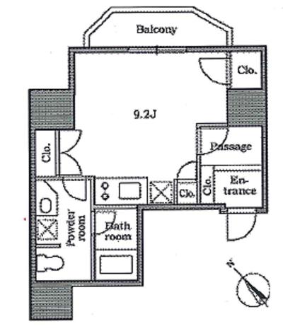 レジディア恵比寿Ⅱ / 5階 部屋画像1