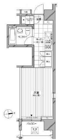 カスタリア麻布十番七面坂 / 5階 部屋画像1