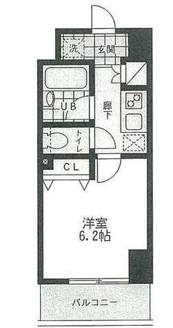 レジディア文京本郷Ⅱ / 4階 部屋画像1