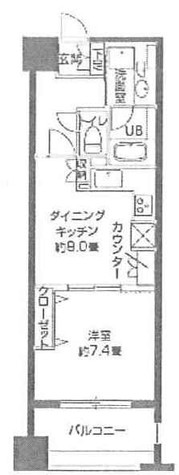 パークキューブ日本橋水天宮 / 10階 部屋画像1