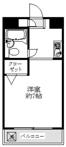 7帖の洋室