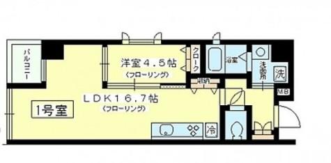 馬喰横山 2分マンション / 401 部屋画像1