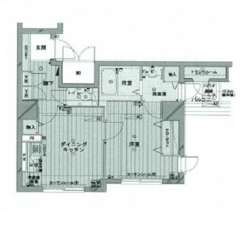メゾン・ド・ヴィレ日本橋茅場町 / 802 部屋画像1