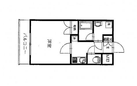 パークウェル神田EAST / 4階 部屋画像1
