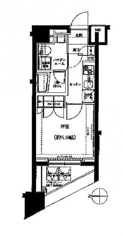 スパシエ川崎ウエスト / 1203 部屋画像1
