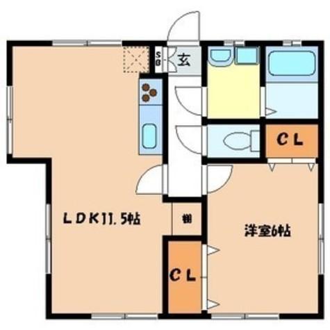 第3サンライト / 1階 部屋画像1