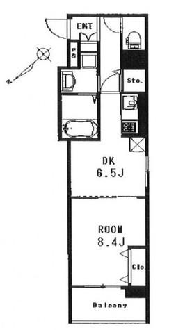 ケイウッドハウス / 6階 部屋画像1