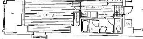 ミラフローレス赤坂 / 803 部屋画像1