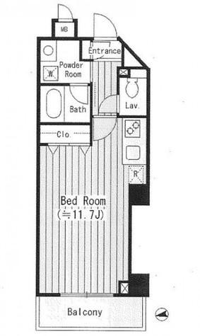 ルミナス神楽坂 / 302 部屋画像1