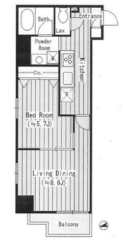 ルミナス神楽坂 / 3階 部屋画像1