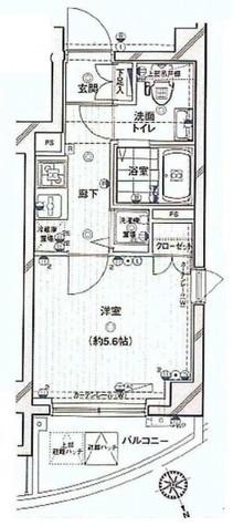 エクセリア渋谷富ヶ谷 / 403 部屋画像1
