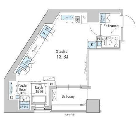 パークアクシス茅場町 / 3階 部屋画像1