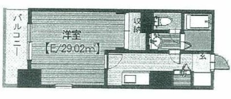 メゾン・ド・ヴィレ高輪 / 704 部屋画像1