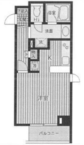 CST自由が丘 (中根1) / 2階 部屋画像1
