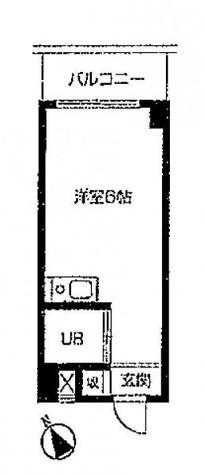 メゾンブランシュ(旧ワールドハイツ不動前) / 5階 部屋画像1