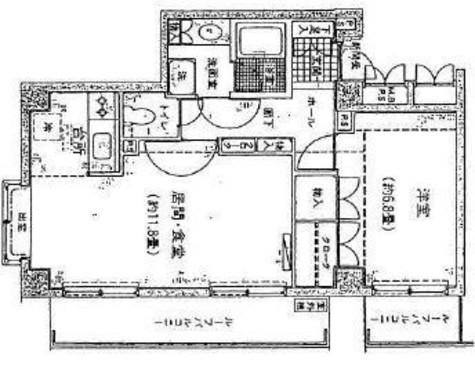 パーク・ノヴァ代々木 / 402 部屋画像1