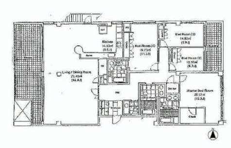 Chelsea Garden / B-301 部屋画像1