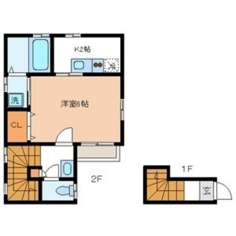 フレシール / 2階 部屋画像1