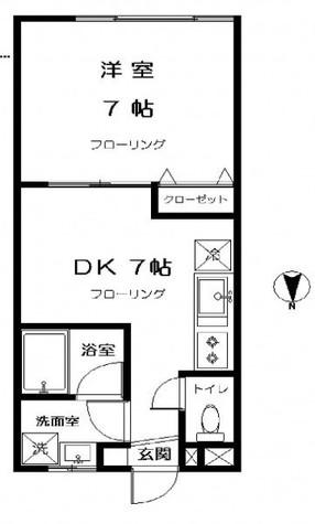 グレイス / 2階 部屋画像1