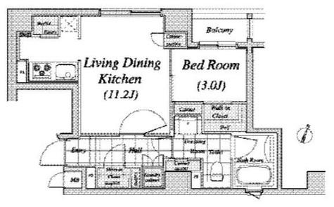 レジディア神田 / 2階 部屋画像1