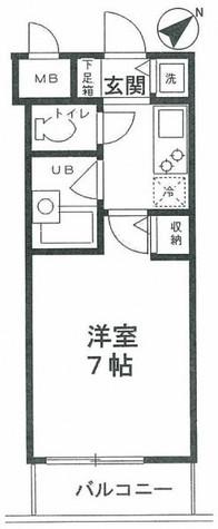 アムス門前仲町富岡 / 803 部屋画像1