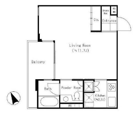 代々木 MK COURT / 2階 部屋画像1