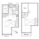 レジディア目黒Ⅱ / 402 部屋画像1