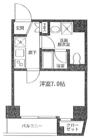 アイル秋葉原North弐番館 / 4階 部屋画像1