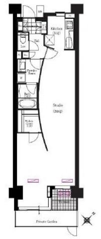 アパートメンツ三軒茶屋・アイビーテラス / 118 部屋画像1