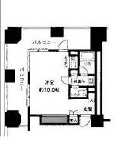 ルネ新宿御苑タワー / 5階 部屋画像1