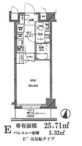セジョリ江戸川橋 / 6階 部屋画像1