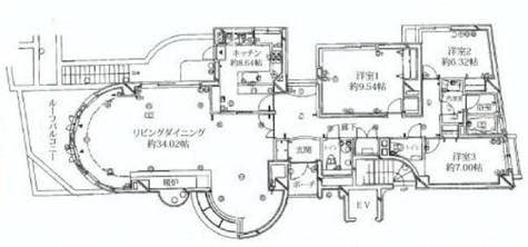 グランフォルム神宮前 / 3階 部屋画像1