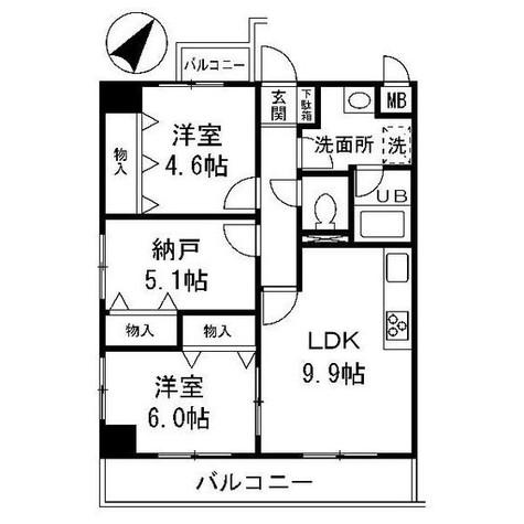 ユーフォリア三枝 / 201 部屋画像1
