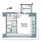 パークハビオ新宿イーストサイドタワー / A205 部屋画像1