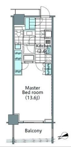 パークハビオ新宿イーストサイドタワー / 1505 部屋画像1