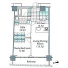パークハビオ新宿イーストサイドタワー / 1611 部屋画像1