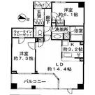 パークハウス旗の台六丁目 / 2階 部屋画像1