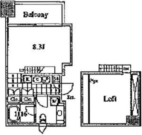 高輪台 6分マンション / 207 部屋画像1