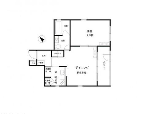 パークレーンコート / 3階 部屋画像1